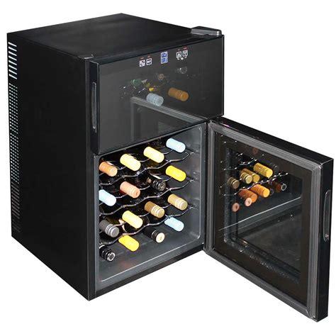 dual zone wine fridge 24 bottle running model bcw69 dd - 24 Wine Fridge