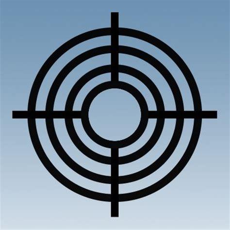 printable iron on transfers target crosshair 2 target iron on transfer