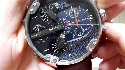review watches relogio relozhes diesel mr 2 0 dz7314