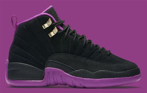 Schuhe Big Air 12 Gs Hyper Violet Kinder Metallisch Schwarz Gold Loyal Im Spanien P 88 air retro 13 brown purple