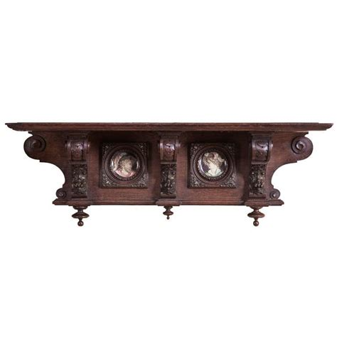 Antique Shelf by Antique Belgian Wall Shelf At 1stdibs