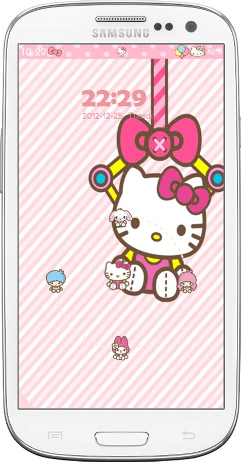 hello kitty locker themes pretty droid themes hello kitty go lockers