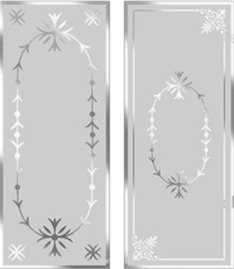 Stencils For Glass Doors Image Gallery Etch Borders
