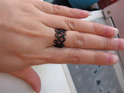 ws03 2014 fashion vintage stretch tattoo rings punk retro