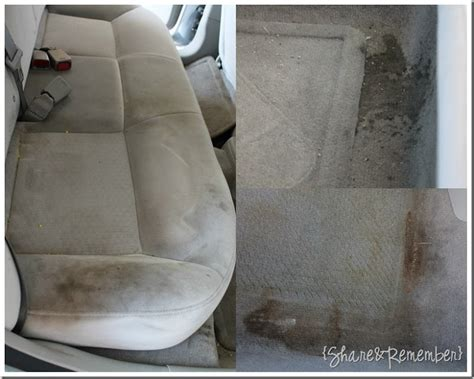 oxiclean upholstery cleaning the car