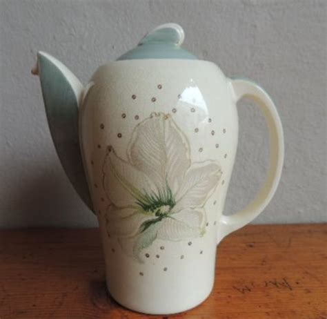 Teaset Orchid porcelain deco susie cooper coffee set