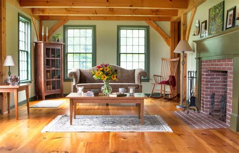 Shaker Living Room by Cherry Furniture Archives Vermont Woods Studios