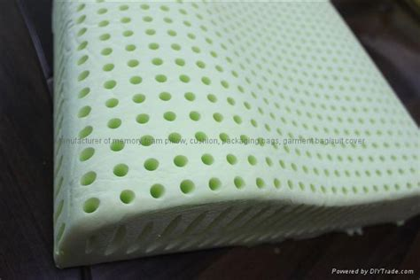 Memory Foam Pillow With Holes by Aloe Vera Memory Foam Pillow With Holes Rmp 1017