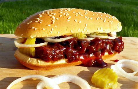 rib sandwich the real mcrib sandwich barbecuebible