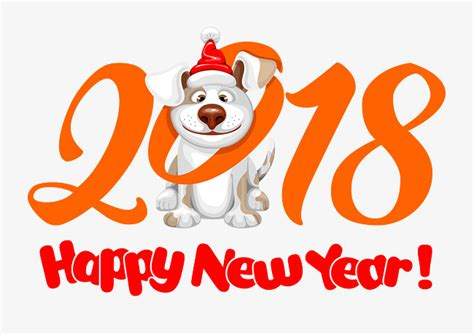 new year 2018 animal and color 2018 le chien de dessins anim 233 s la nouvelle 233 e 2018