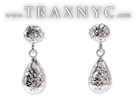 White Gold Chandelier Earrings White 14k Gold Chandelier Earrings Gold Earring White Gold 14k
