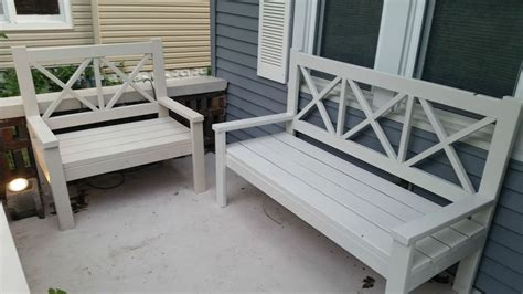 Concrete Patio Bench Front Porch Ideas Style For Ranch Home Karenefoley Porch