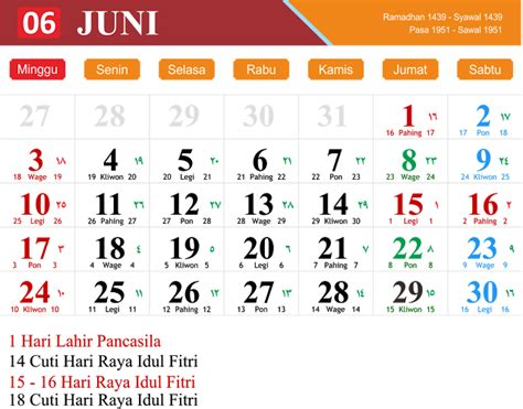 Kalender Juni 2018 Zum Ausdrucken Kalender Juni 2018 Zum Ausdrucken Pdf Excel Word