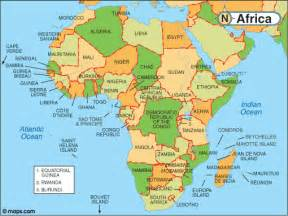 map of africa jerry merz s