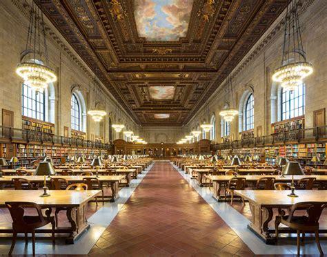 New York Library Reading Room by Reinhard G 246 Rner Reading Room New York