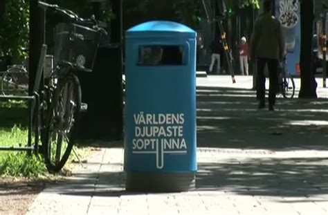 world s world s deepest bin video