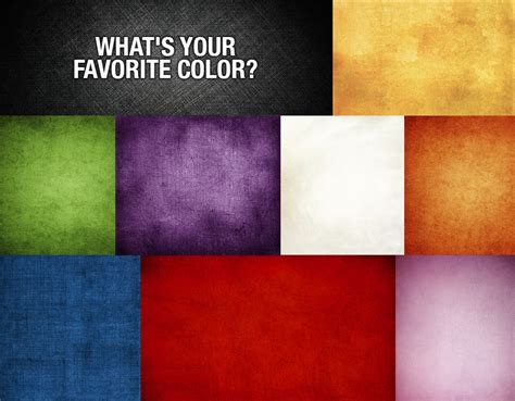favorite color senior go to guide can we guess your favorite color