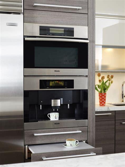 miele  wall espresso machine kosher kitchen design
