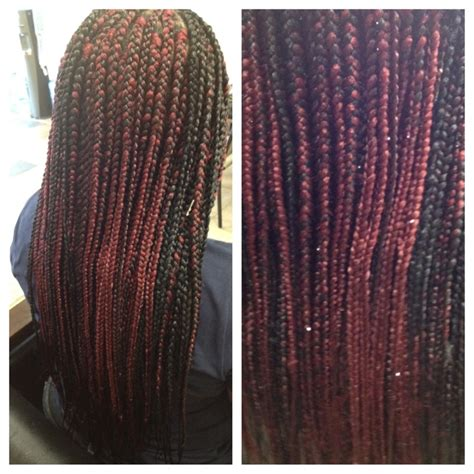 how to seal braids neatly box braids with straight ends www pixshark com images