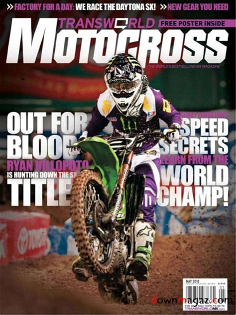 transworld motocross magazine transworld motocross may 2010 187 download pdf magazines