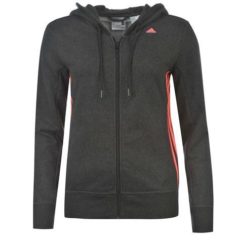 Sweater Hoodie Jaket Juventus Adidas adidas 3 stripe mid zip hoody womens black flash