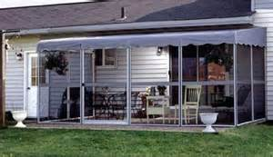Screened Patio Enclosures by Patio Mate Screened Enclosure White Gray Color
