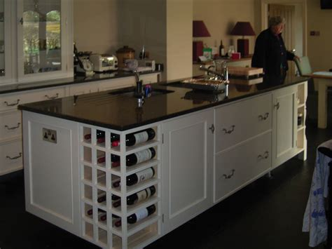 kitchen islands with wine racks home design
