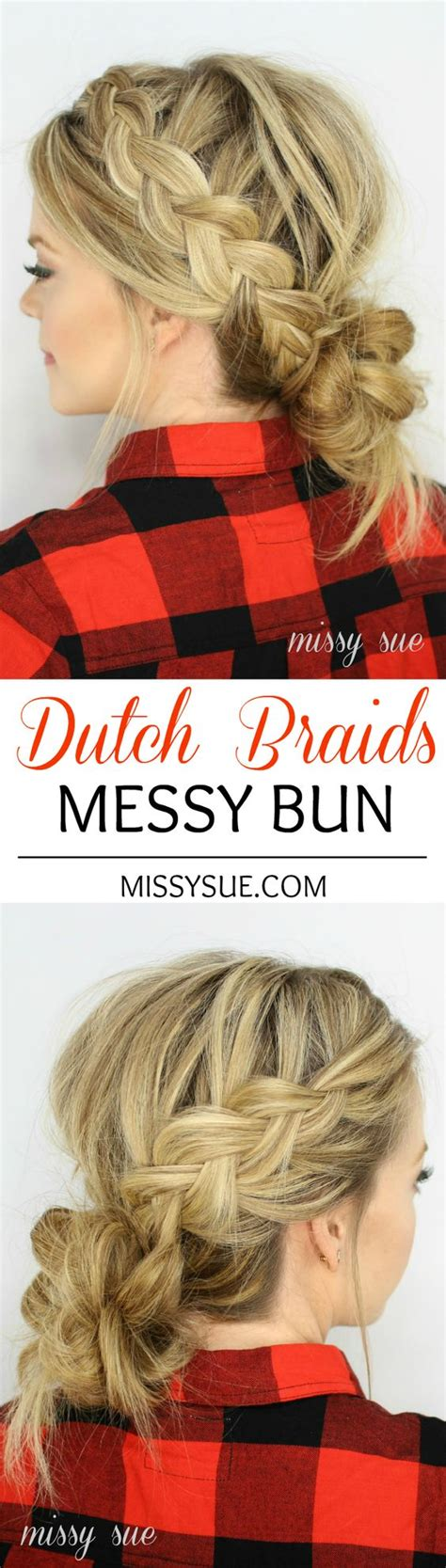 cornrows and loose bun dutch braids low messy buns and messy buns on pinterest