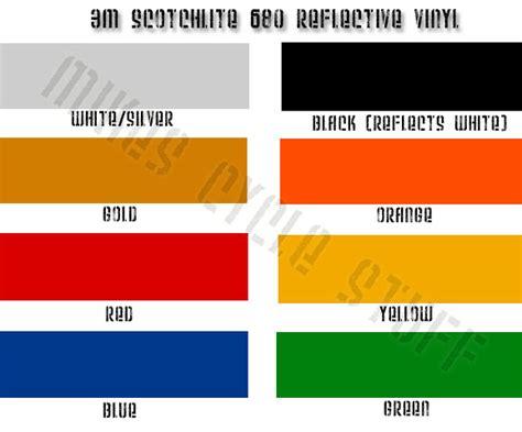 Stiker Reflective 3m Scotchlite 3m novoworks vinyl reflective vinyl 3m