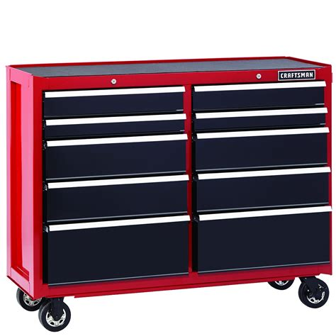 craftsman    drawer heavy duty rolling cart red