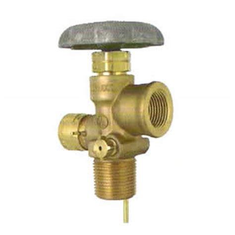 100 lb dot cylinder service valve