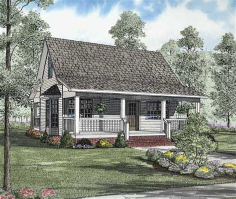 southern country cottage house plans