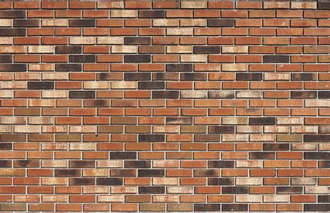 Wall 3d Brick Br1317 Blue orange and brown brick texture 14textures