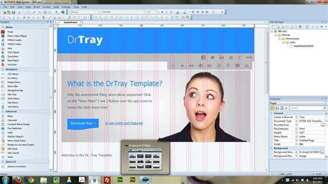tutorial web builder 9 how to create a website in wysiwyg web builder 9 youtube