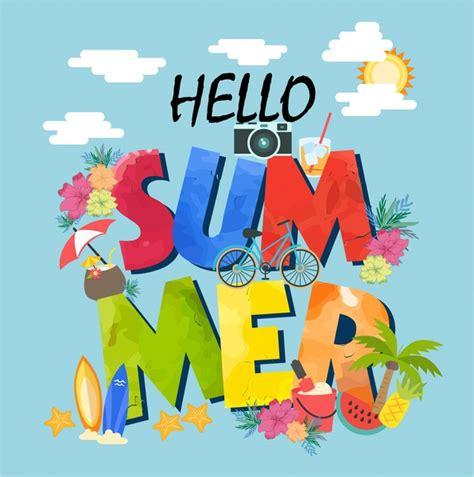 summer banner clipart best