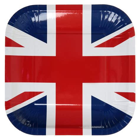 assiette drapeau angleterre d 233 co de table