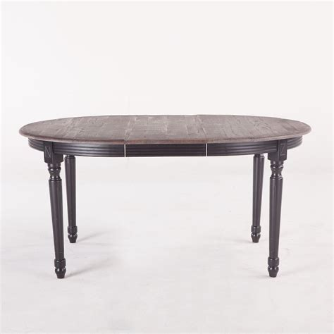 Onyx Dining Table Onyx Dining Table 78 Quot Oval With Ext Industrial Home