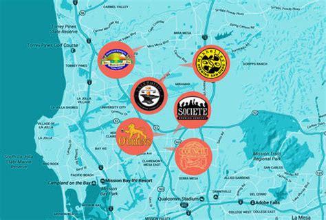 san francisco microbrewery map best tours for san diego breweries thrillist