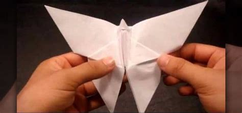How To Make From Paper - how to make an origami paper butterfly 171 origami