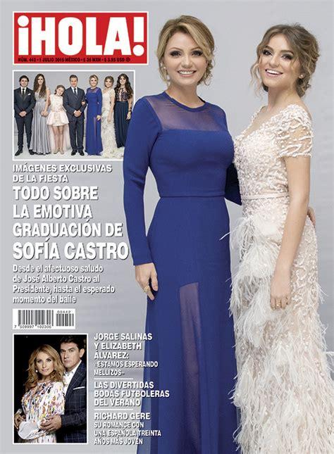 imagenes revista hola angelica rivera esta semana en 161 hola todo sobre la emotiva graduaci 243 n de