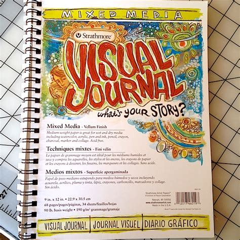 graphic design visual journal spiral sketchbooks for art journaling grace mendez