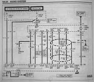 need radio wiring diagram 95 seville