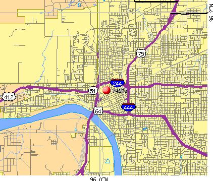 Tulsa Zip Codes Map by Tulsa County Zip Code Map Image Search Results