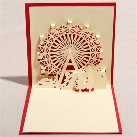 Paper Folding Cutting - 3d paper folding promotion shopping for promotional