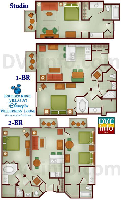 wilderness lodge 2 bedroom villa floor plan boulder ridge villas at disney s wilderness lodge