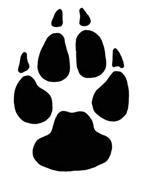 Clipart Of Dog Paw Prints – 101 Clip Art