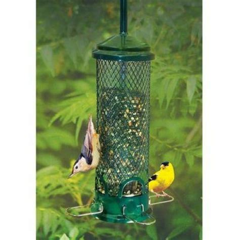 brome squirrel buster mini squirrel proof bird feeder ebay