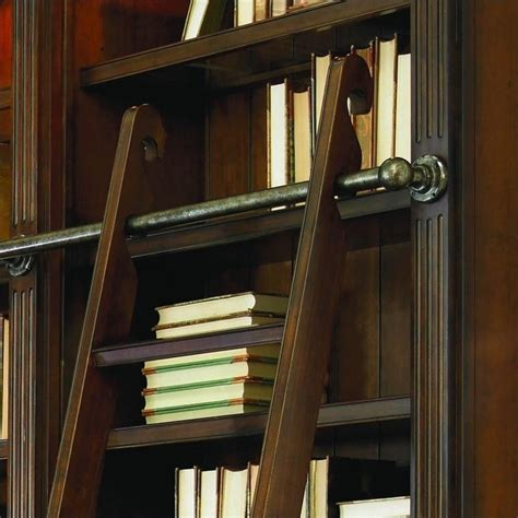 Hooker Furniture European Renaissance Ii Double Bookcase Bookcase Ladder And Rail