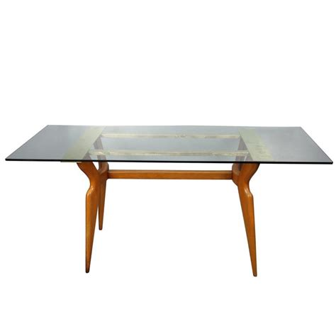 italian dining room tables italian dining room table in style of gio ponti for sale at 1stdibs