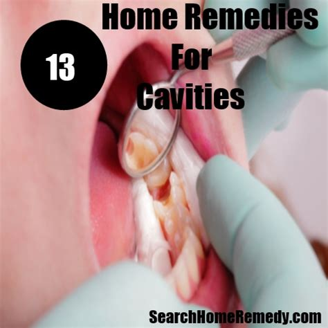home remedy to treat tooth cavity